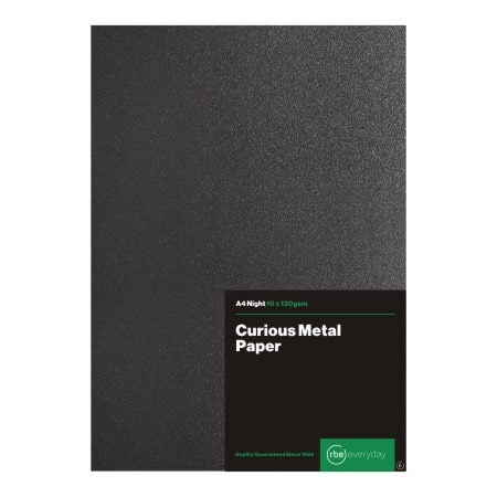 Curious Metal Night Paper