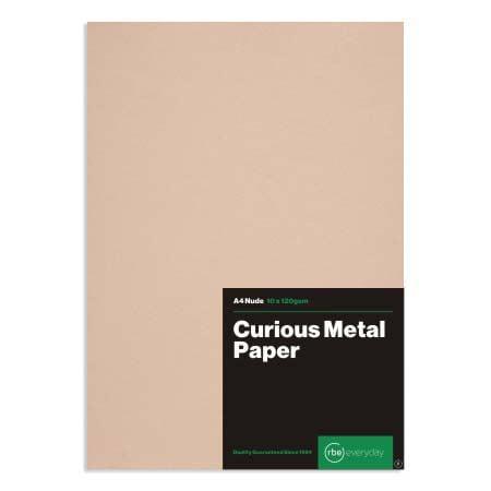 Curious Metal Nude Paper