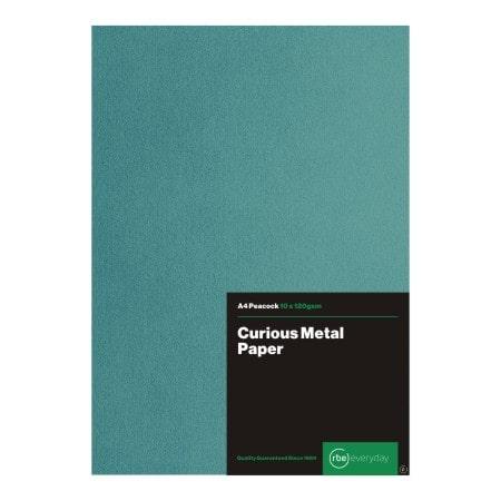 Curious Metal Peacock Paper