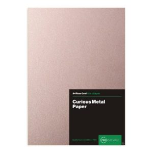 Curious Metal Rose Gold Paper