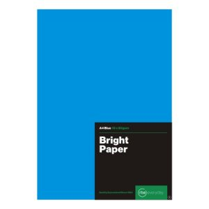 Bright Blue Paper