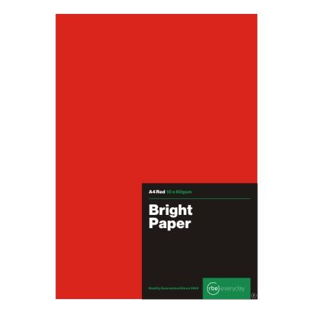 Bright RedPaper