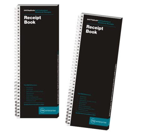 5 to View Receipt Books