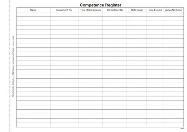 Security Competence Register