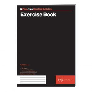 Speckled Guideline 72 Page Exercise Book