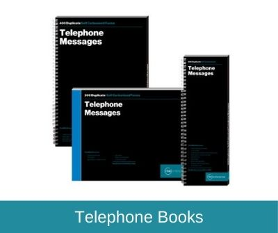 Telephone Message Books & Pads