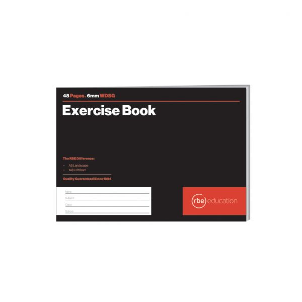 WDSG Exercise Book 6mm A5