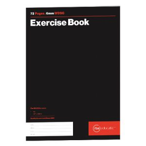 WDSG Exercise Book 6mm 72 Page