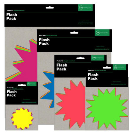 Assorted Flash Packs - Categories