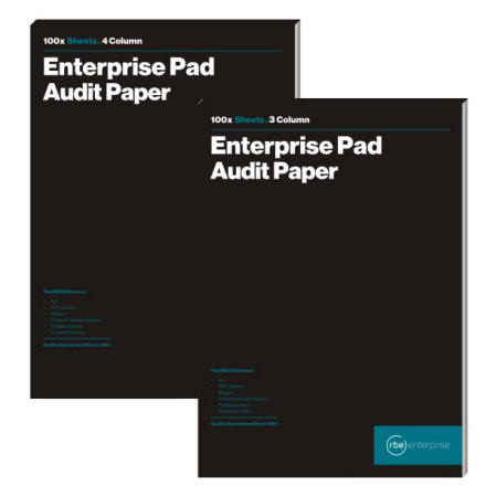 Audit Pads - Categories