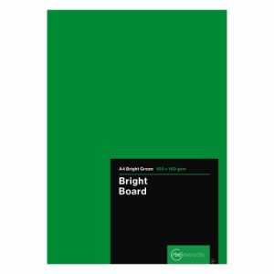 Bright Green Board A4