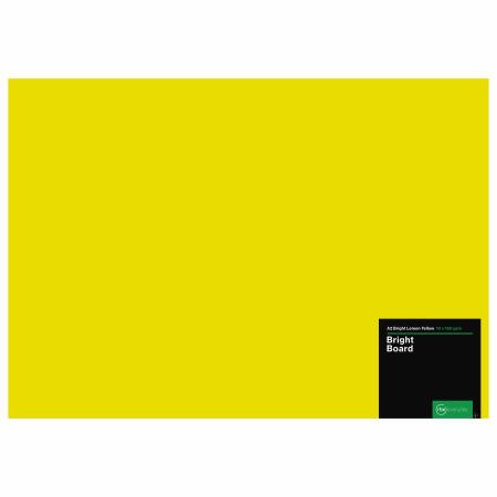 Bright Lemon Yellow Board A2