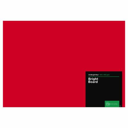 Bright Red Board A3