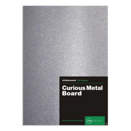 Curious Metal Galvanised Board