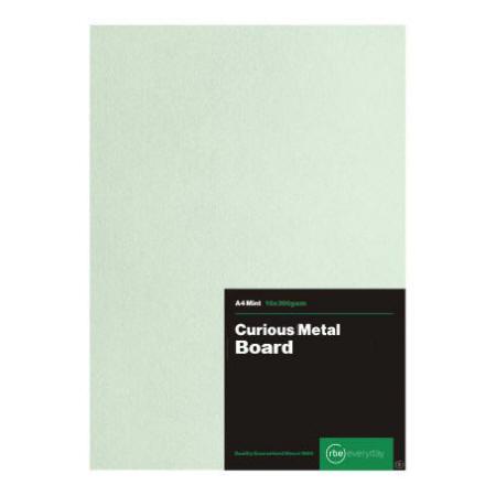 Curious Metal Mint Board