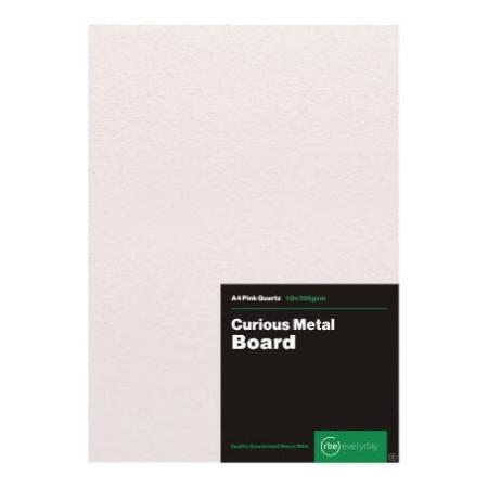 Curious Metal Pink Quartz Board