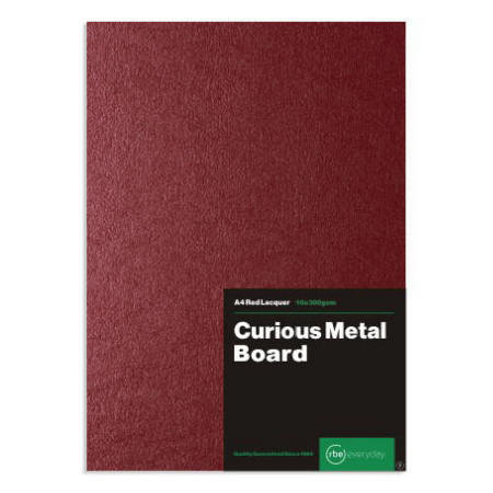 Curious Metal Red Lacquer Board