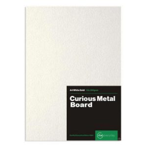 Curious Metal White Gold Board
