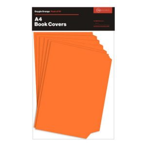 Dayglo Orange Book Cover