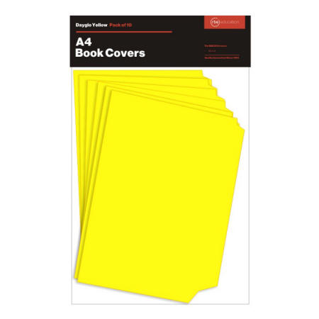 Dayglo Yellow Book Cover