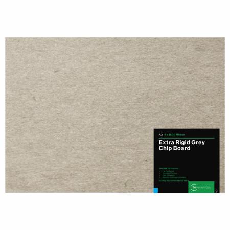 Extra Rigid Grey Chip Board