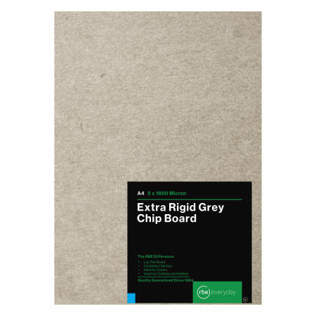 Extra Rigid Grey Chip Board
