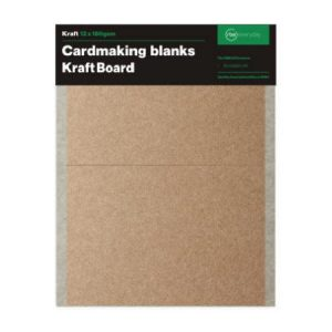 Kraft Card Making Blanks