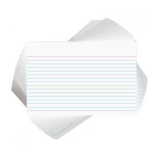 Medium Record Cards - 102 x 152mm