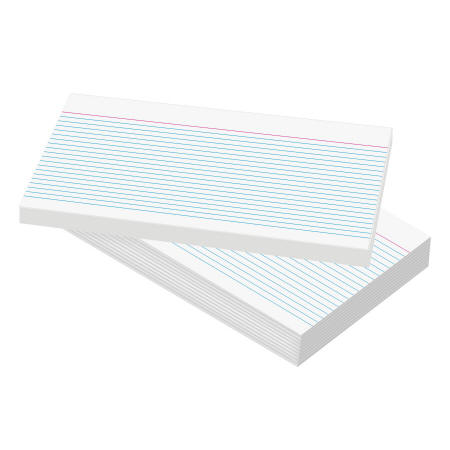 Large Record Cards - 127 x 203mm