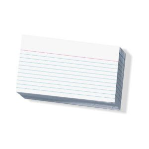 Small Record Cards - 76 x 127mm