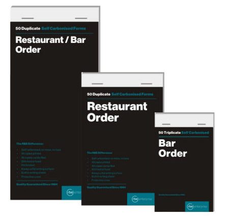 Restaurant Pads - Categories