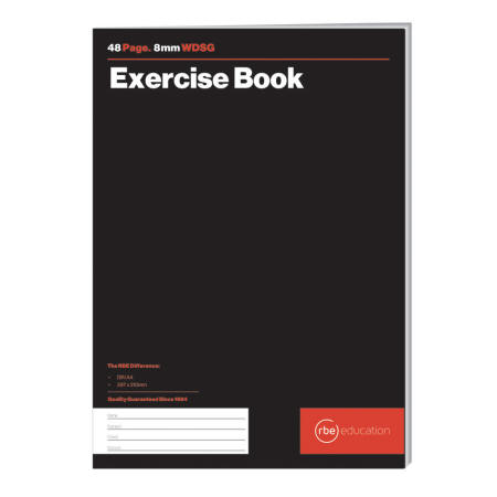 WDSG 8mm Exercise Book