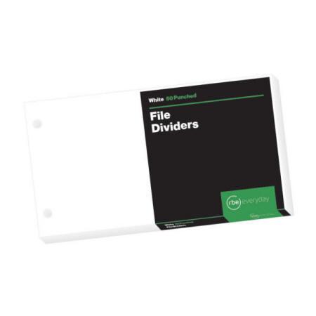 White File Dividers