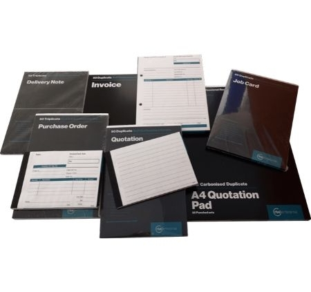Business Books & Pads Range
