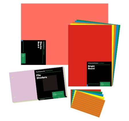 Mixed or Assorted Paper Packs