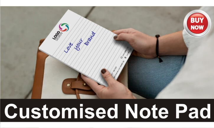 Full Colour Customised Branded Note Pads