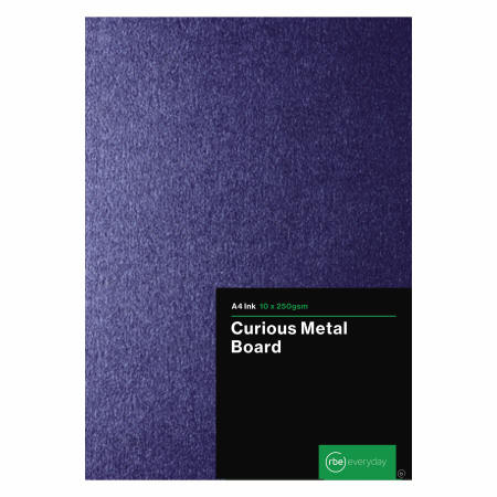 Curious Metal Ink 250gsm Board