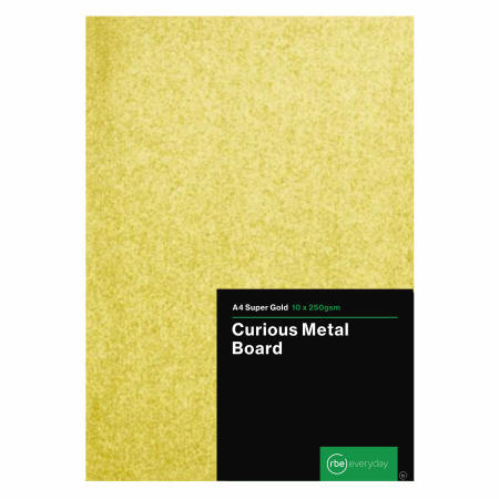 Curious Metal Super Gold 250gsm Board