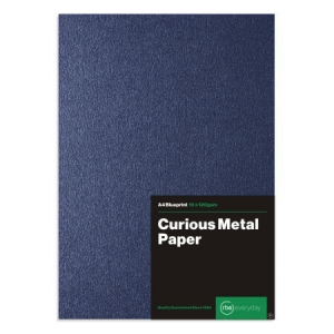Curious Metal Blueprint Paper
