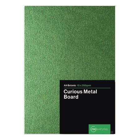 Curious Metal Botanic Board