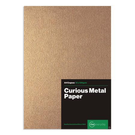 Curious Metal Cognac Paper