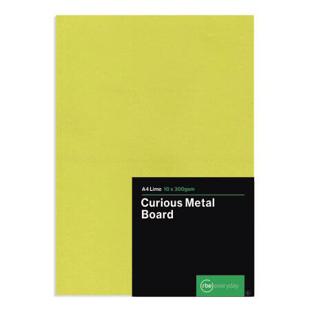 Curious Metal Lime Board