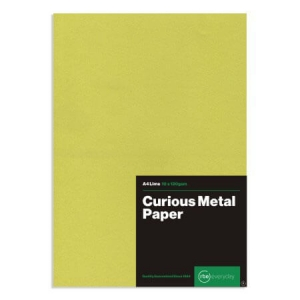 Curious Metal Lime Paper