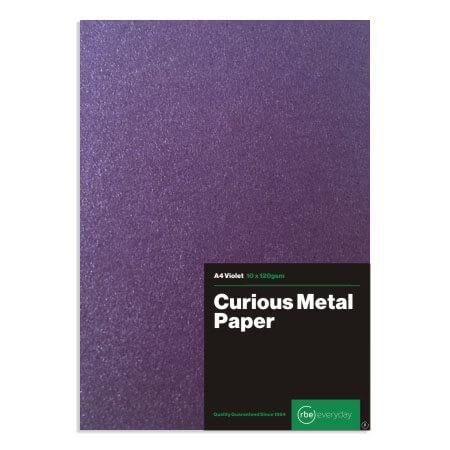 Curious Metal Violet Paper