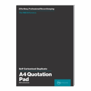 A4 Quotation Duplicate Pads