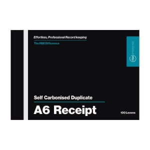 NCR A6 Receipt Pad Duplicate