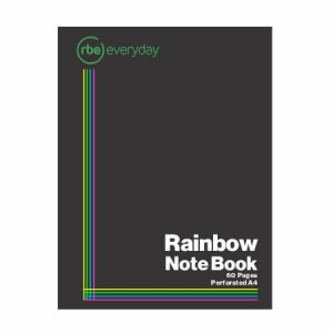 Rainbow Note Book