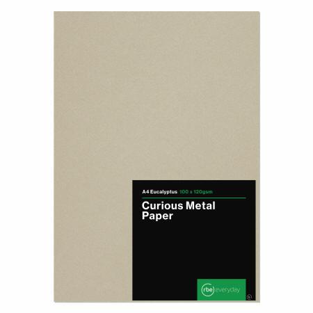 Curious Metal A4 Eucalyptus Paper