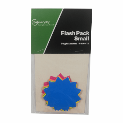 Small Flash Packs - Pack of 12