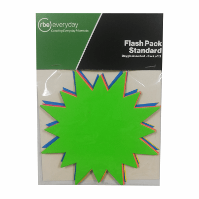 Standard Flash Packs - Pack of 12